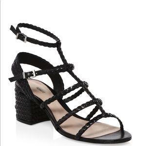 schutz clarcie pearl sandals 8